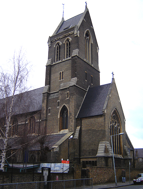 St Matthias, Stoke Newington, where the launch of Hackney Foodbank took place.